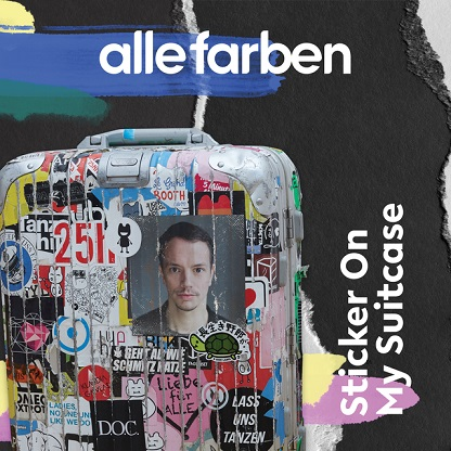 ALLE FARBEN: Sticker On My Suitcase